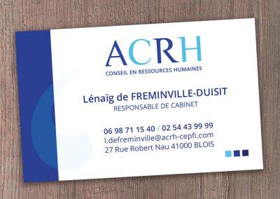 Carte de visite ACRH