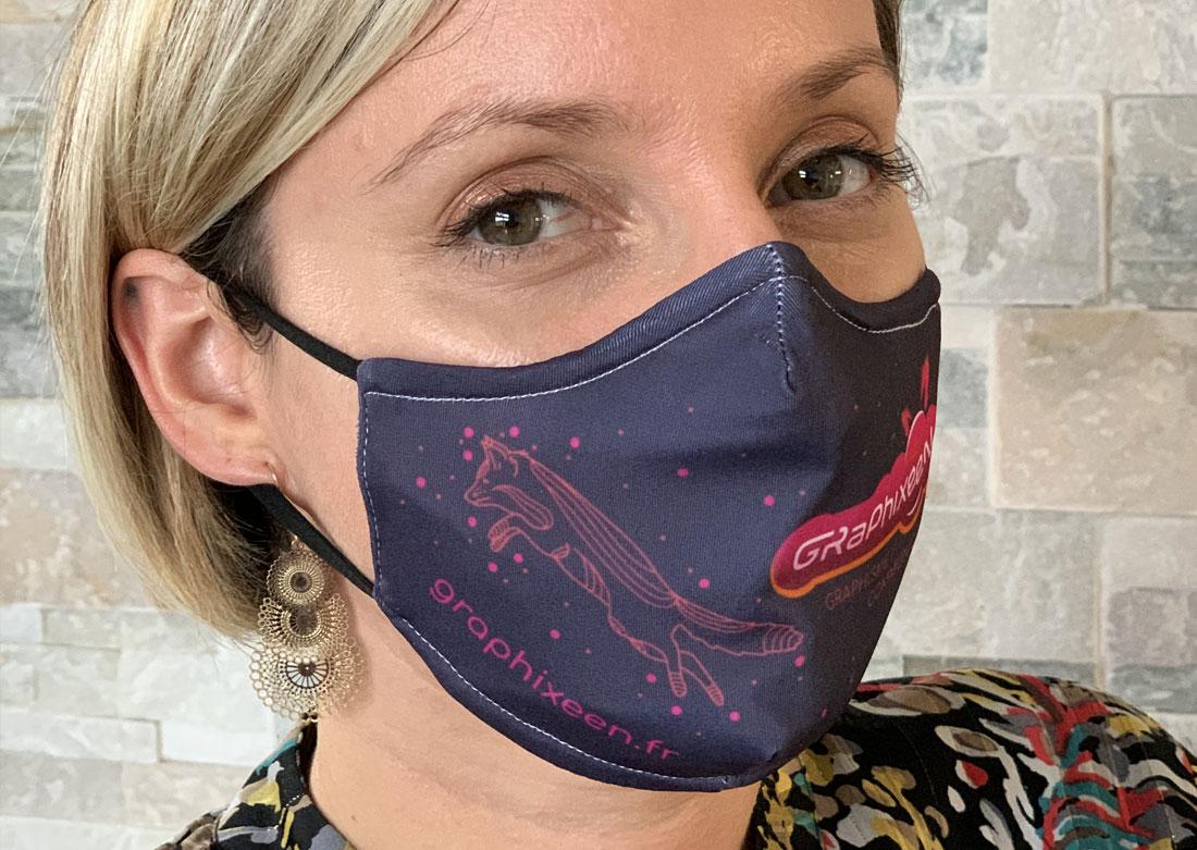 Masque personnalisé Graphixeen