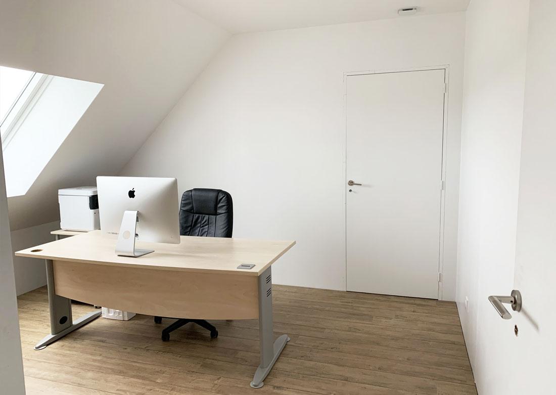 Décoration intérieure bureau - Photo avant montage