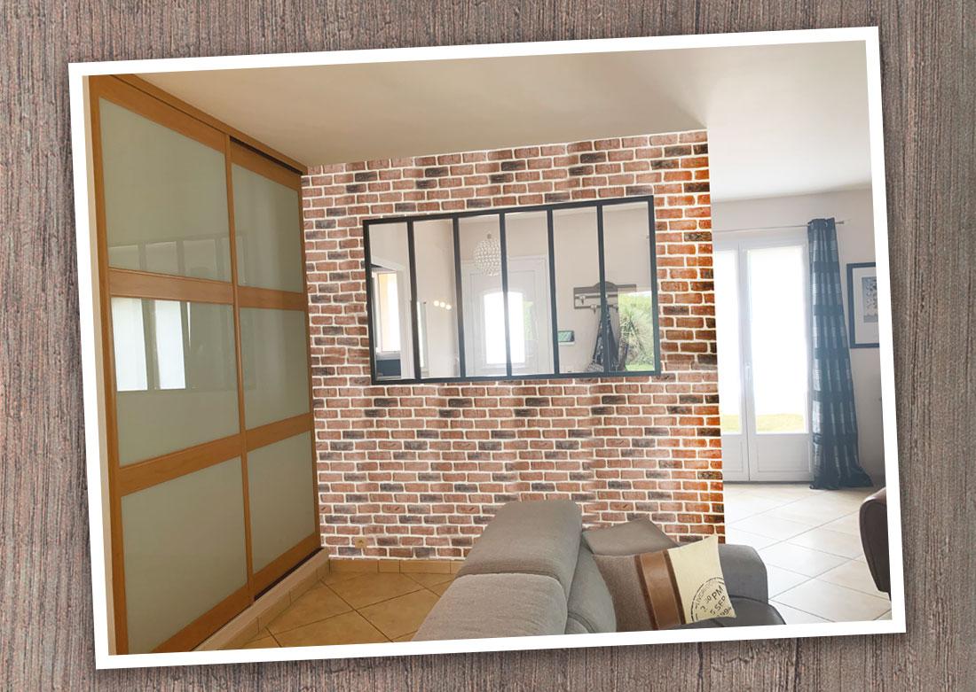 Décoration intérieure salon - Montage photo