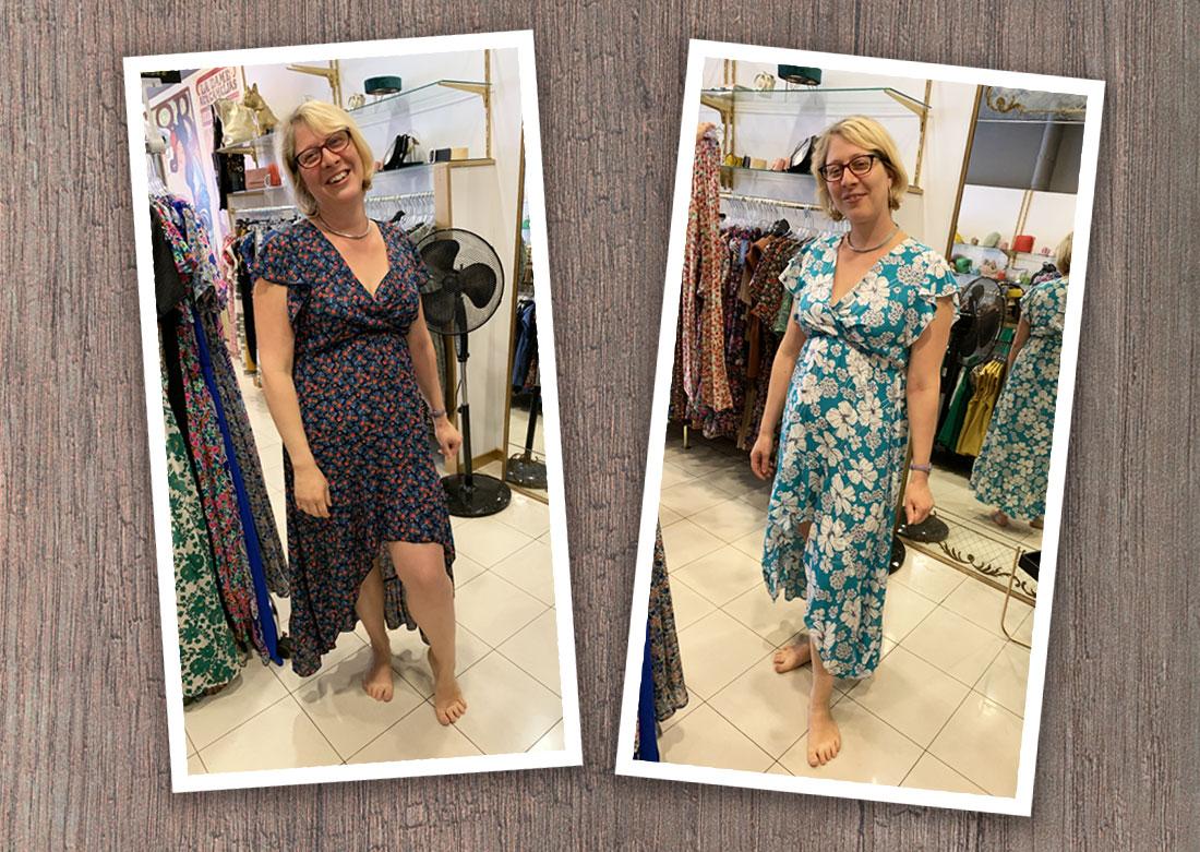 Séance personal shopper - Essayage de robes