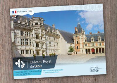 Brochure de visite CHÂTEAU DE BLOiS