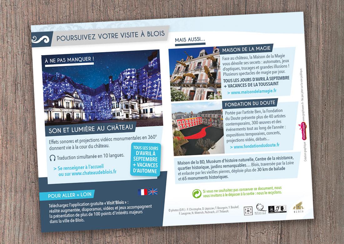 Brochure de visite - Dos