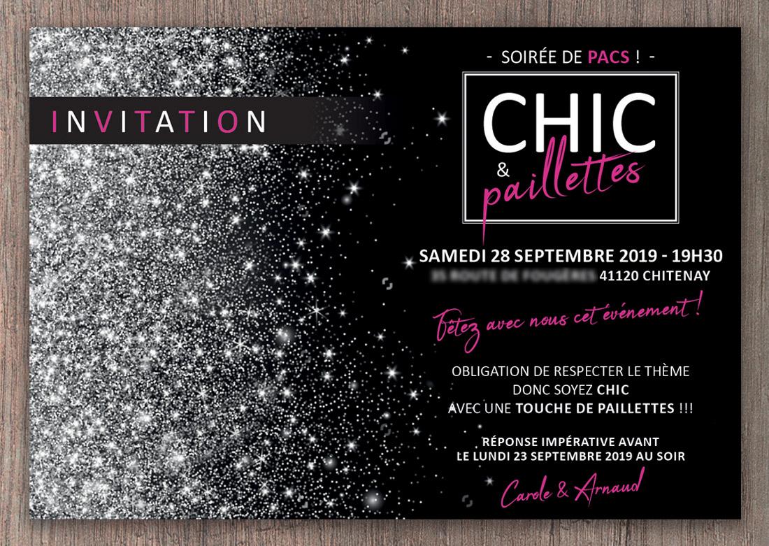 Invitation Pacs