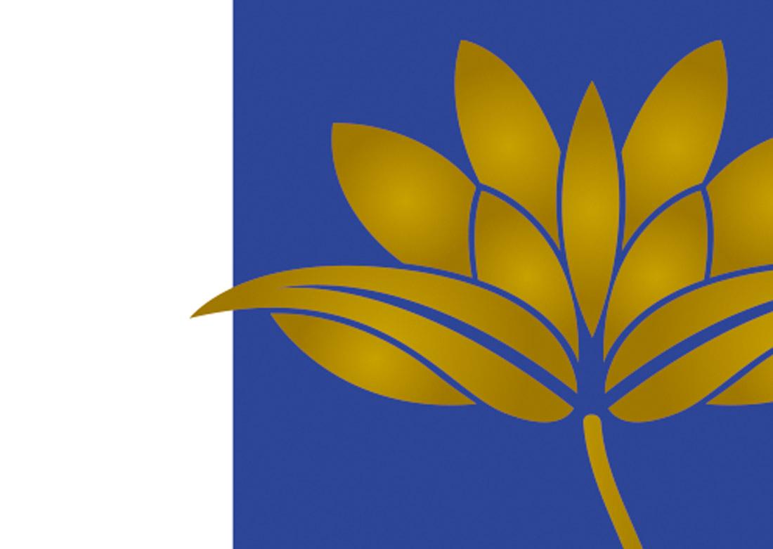 Carte de visite - zoom détail fleur de lotus