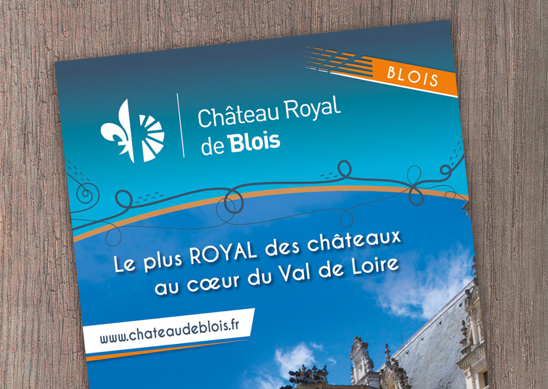Roll-up Château de Blois - Zoom