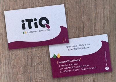 Carte de visite iTiQ